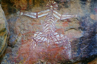 Anbangbang painting at Nourlangie Rock