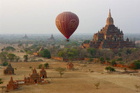 Bagan and Mt Popa
